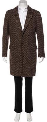 Missoni Zig Zag Wool Coat