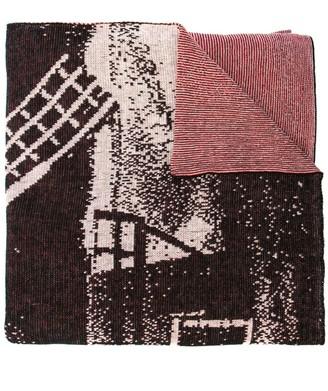 Bernhard Willhelm windmill scarf