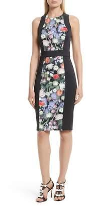 Ted Baker Akva Kensington Floral Body-Con Dress