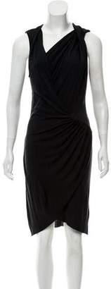 Helmut Lang Silk Knee-Length Dress