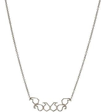 LeiVanKash Roshy Sterling Silver Necklace