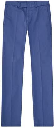 Ralph Lauren Purple Label Slim Cotton Trousers