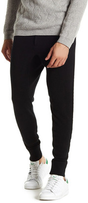 John Varvatos Collection Ribbed Cashmere Sweatpant $598 thestylecure.com