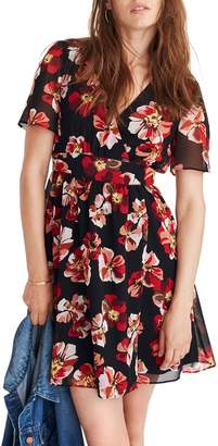 Madewell Tulip Sleeve Minidress
