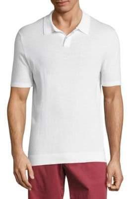 Vilebrequin Solid Cotton Polo