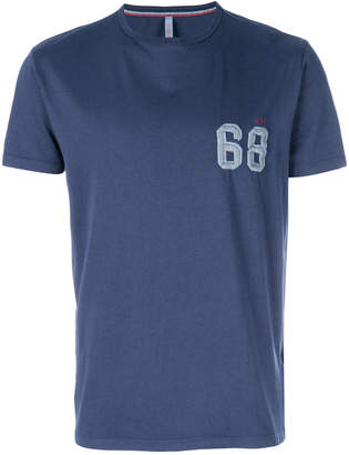 Sun 68 68 embroidered T-shirt