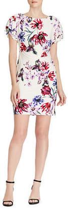 Lauren Ralph Lauren Floral Jersey Day Dress