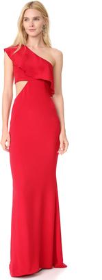 Cushnie Et Ochs One Shoulder Gown $1,995 thestylecure.com