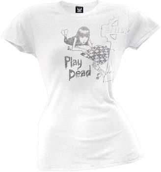 Emily the Strange Play Dead Juniors T-Shirt