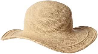 1d45d949130 San Diego Hat Company San Diego Hat Women s Cotton Crochet 4 Inch Brim  Floppy Hat