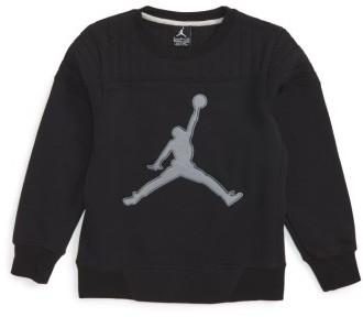 Boy's Jordan Quilted Sweatshirt