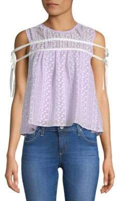 Endless Rose Crochet Lace Top