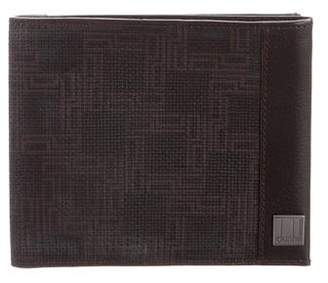 Dunhill Patterned Leather Bifold Wallet