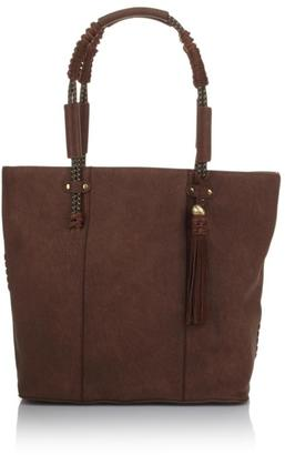 Steven by Steve Madden Emerson Tote with Suede Trim $95 thestylecure.com
