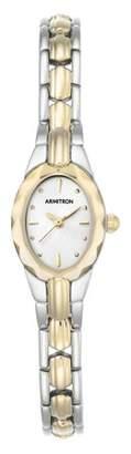 Armitron Women's Showcase Two-Tone Metal Bracelet Dress Watch