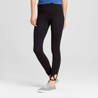 Mossimo Supply Co. Women's Crop Leggings with Clover Cut Out - Mossimo Supply Co. $14.99 thestylecure.com
