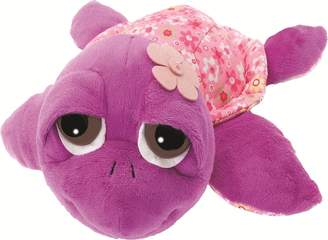 Suki Gifts Little Peepers Turtle Rocky Turtle Soft Boa Plush Toy (Green and Brown Small)