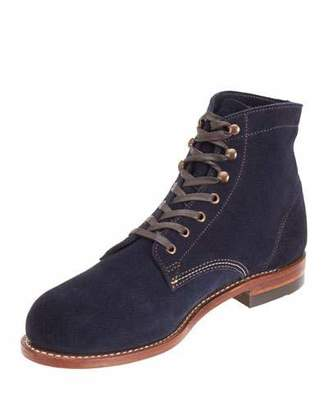Wolverine 1000 Mile Suede Boot, Navy