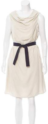 Hache Sleeveless Belted Dress w/ Tags