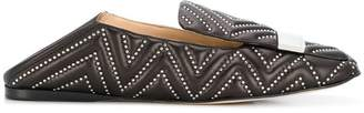 Sergio Rossi studded loafers