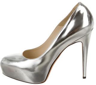 Brian Atwood Patent Leather Platform Pumps $110 thestylecure.com