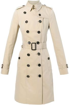 Burberry 'Sandringham' belted trench coat $2,043 thestylecure.com
