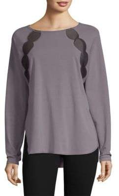 Fit-Z Nancy Rose Performance Fitz Cotton Pullover