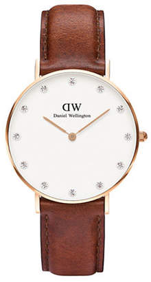 Daniel Wellington Classy Lady St.Mawes Leather Watch