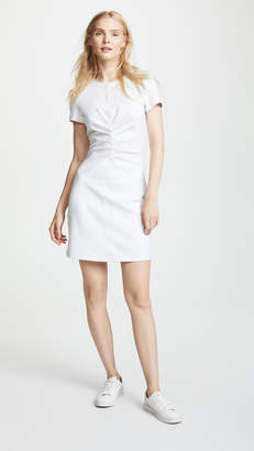 Victoria Beckham Victoria Tuck Front Mini Dress
