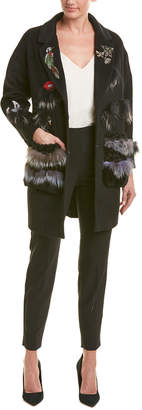 BURRYCO Wool-Blend Coat