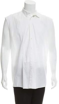 Balmain Tuxedo Button-Up Shirt