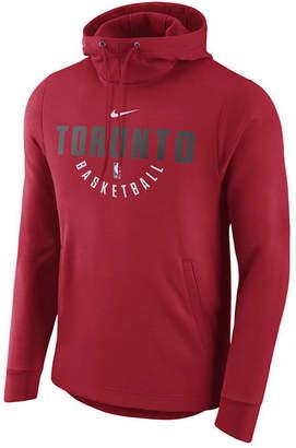 Nike Men's Toronto Raptors Practice Therma Hoodie