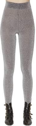 Philosophy di Lorenzo Serafini Stretch Lurex Knit Leggings