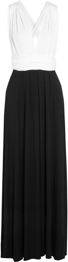 Tart Infinity color-block maxi dress