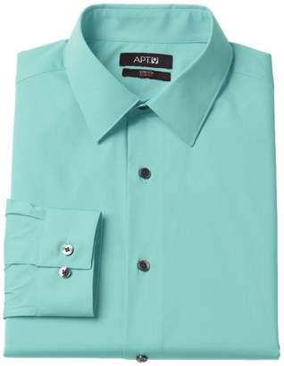 Apt. 9 Men's Extra-Slim Fit Solid Stretch Spread-Collar Dress Shirt