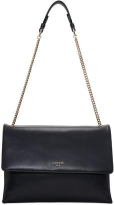 Lanvin Navy Medium Sugar Bag $1,995 thestylecure.com