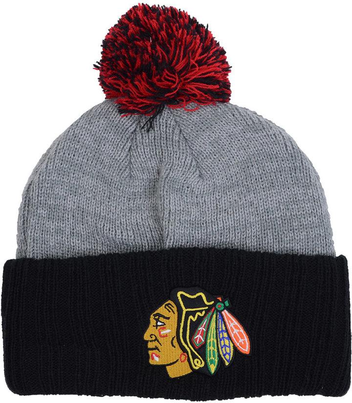 New Era Chicago Blackhawks Flag Stated Cuff Knit Hat