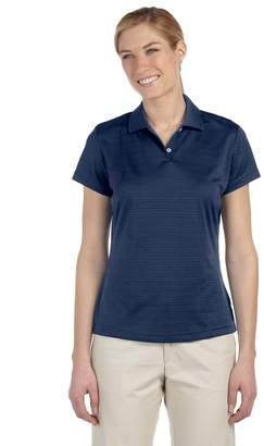 adidas Ladies' ClimaLite Textured Short-Sleeve Polo - 2XL
