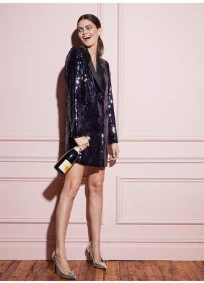 Fleur Du Mal Sequin Blazer Dress