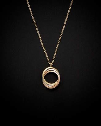 Italian Gold 14K Tri-Tone Necklace