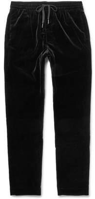 Tomas Maier Stretch-Cotton Velvet Drawstring Trousers