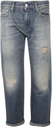 Calvin Klein Distressed Jeans