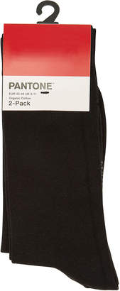 Pantone Double Pack of Cotton Ankle Socks