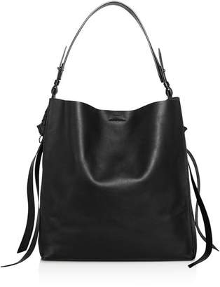 AllSaints Voltaire Large Leather Tote