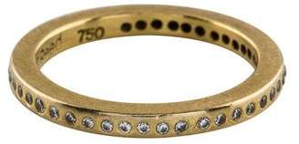 Todd Reed 18K Diamond Eternity Band