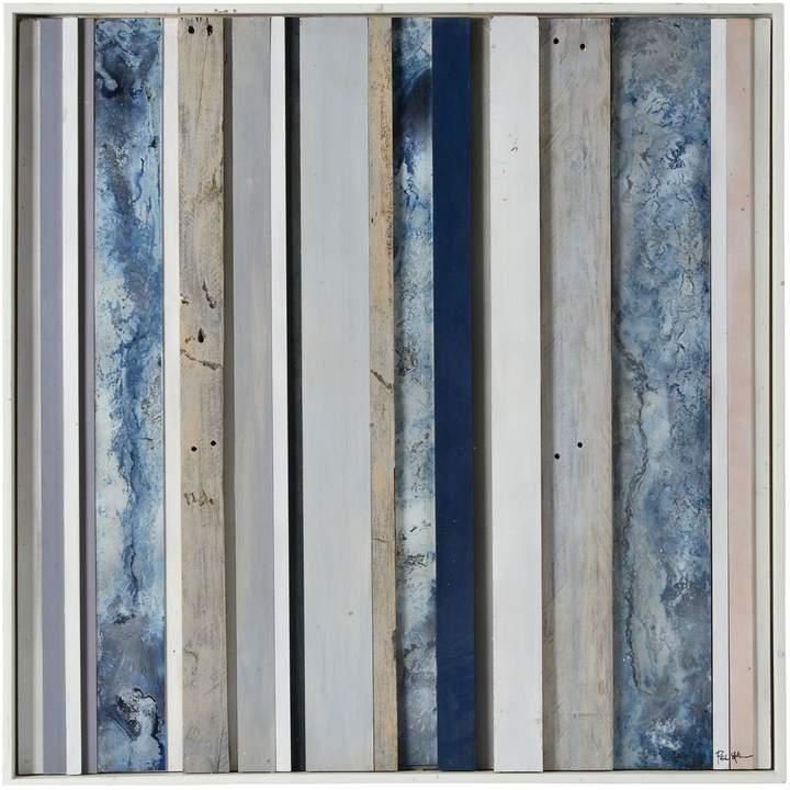 Slatted Sky Wood Panel