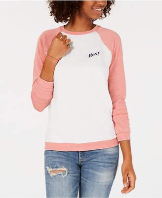 Roxy Juniors' Colorblocked Logo Sweatshirt
