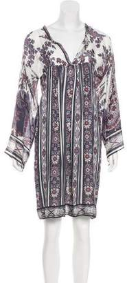 Etoile Isabel Marant Printed Mini Dress