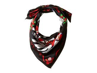 Echo Toy Soldier Silk Square Scarf