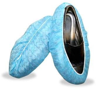 CORDOVA SAFETY PRODUCTS Blue Polypropylene Non-Skid Shoe Covers (400 Pair/Case)